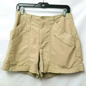 Royal Robins Women's Shorts  Size 8 Tan Color